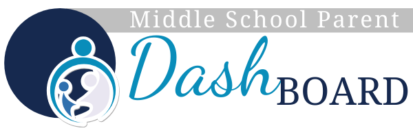 Middle School Parent Dashboard