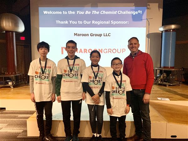 You Be The Chemist Challenge Finalists