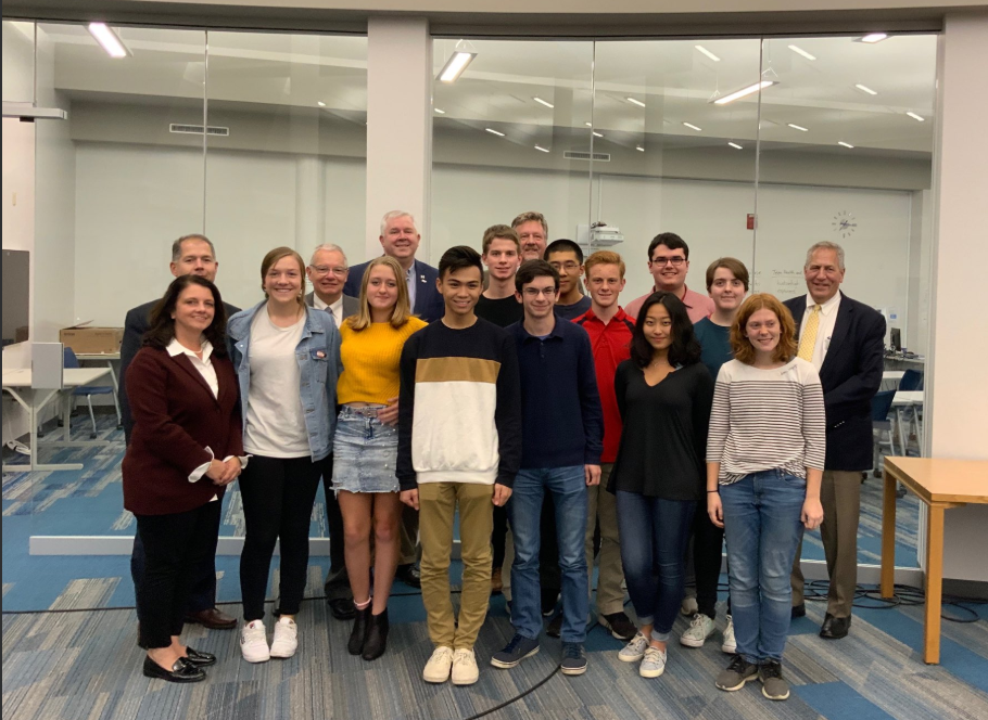 2019 National Merit Semi-Finalists and Finalists with Board of Education