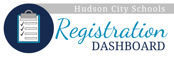 Hudson City School District Registration Dashboard