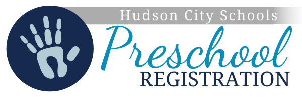 Hudson City Schools Preschool Registration