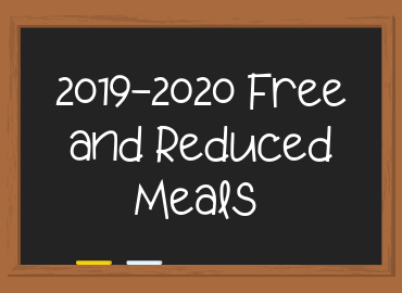 Free and Reduced Meals Application for 2019-2020