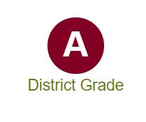 District receives A Grade on State Report Card.