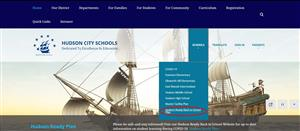 Main page website screenshot