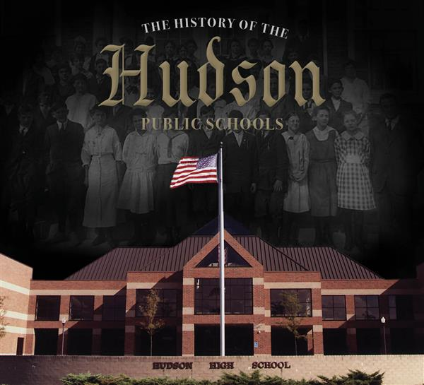 The History of Hudson Public Schools book cover