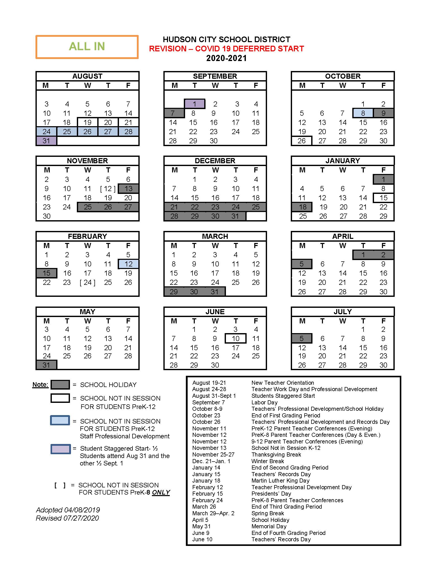 Cms Calendar 2022 23.About Hcsd School Year Calendars