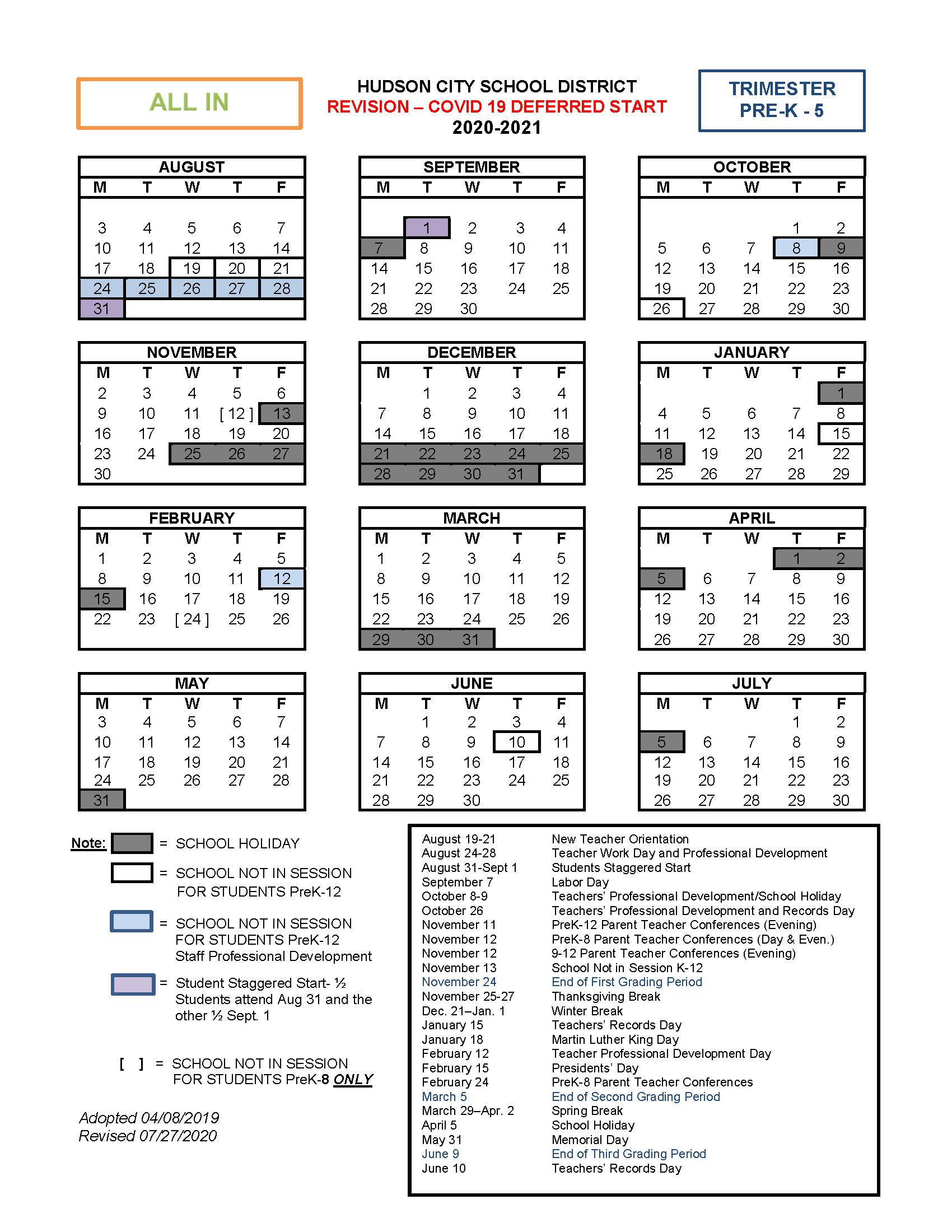 Columbus City Schools Calendar 2022 2023.About Hcsd School Year Calendars