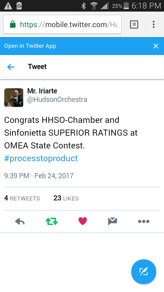 OMEA 2017 results